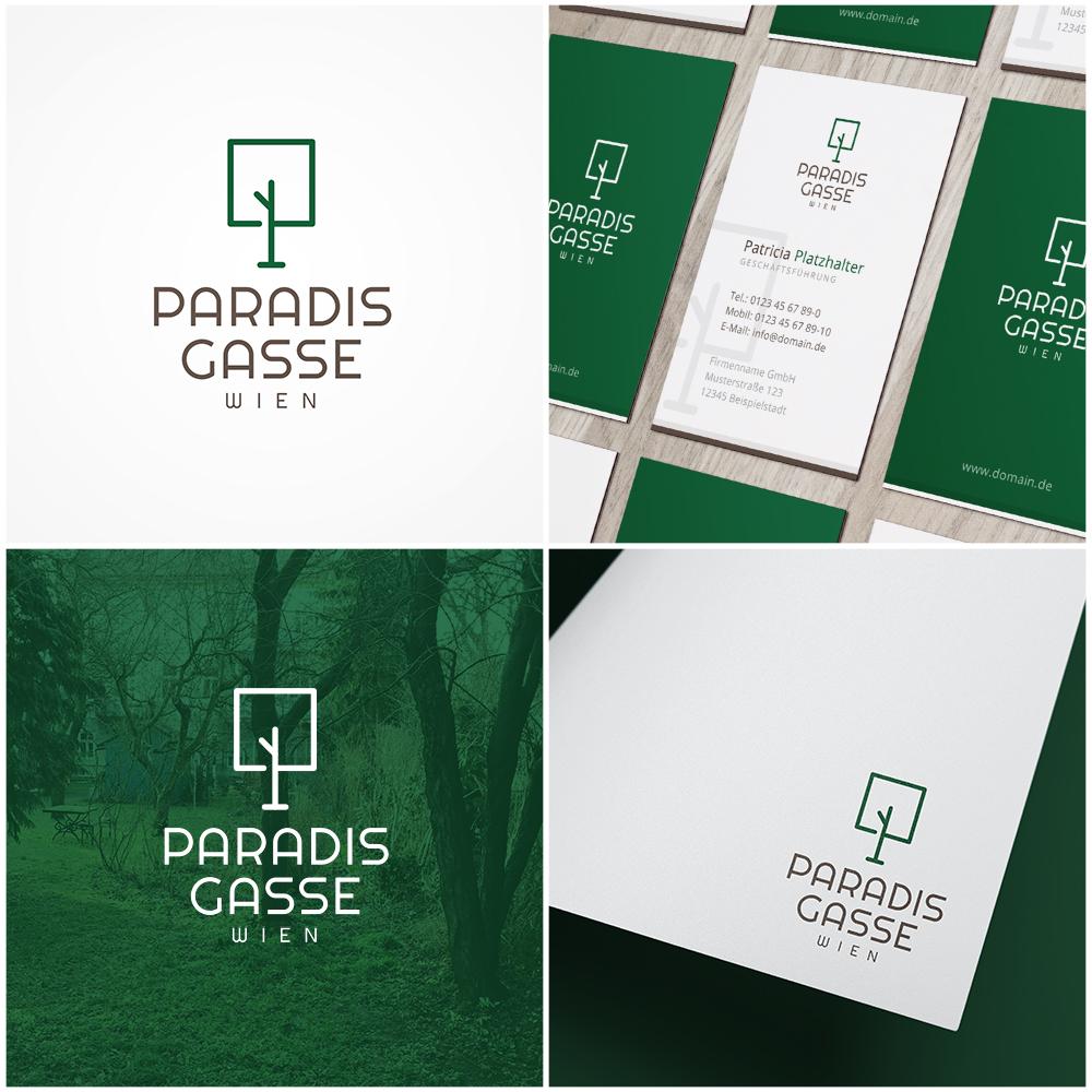 Logo Visitenkarte Für Bau Von Eigentumswoh Logo