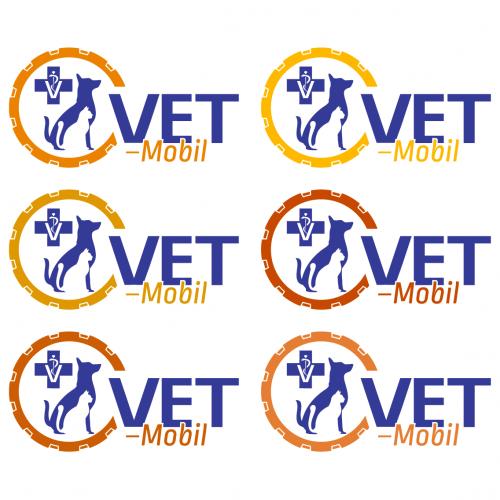 Logo-Design für mobile Tierarztpraxis