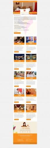 HTML Vorlage für Newsletter von wellnesshotel24.de