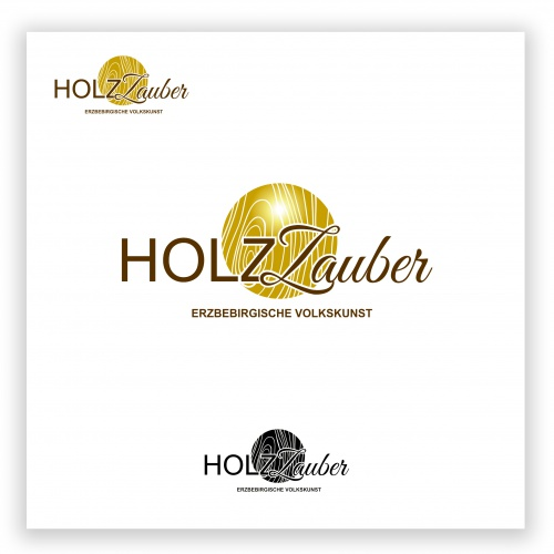 Logo-Design für Firma Holz-Zauber