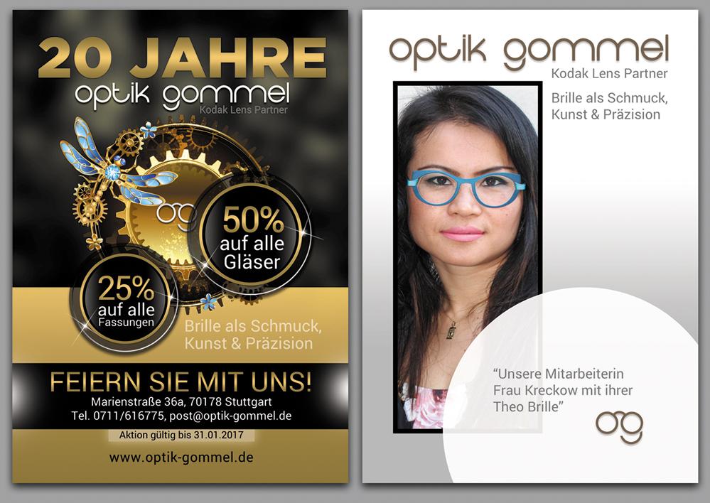 Plakat-Design für 20er Jubiläum » poster design ...