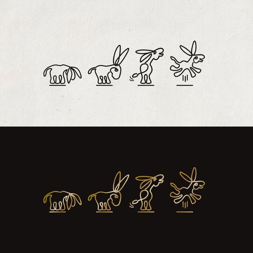Schlichtes Logo-Design das Esel darstellen soll für Deal-/Schnäppchenprotal & Cashbackprotal