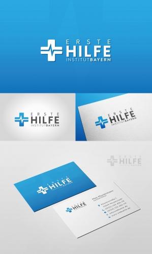 Logo & Visitenkarte für Anbieter eines Erste-Hilfe-Kurses
