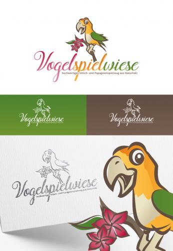 Logo Onlineshop für Sittich und Papageienspielzeug