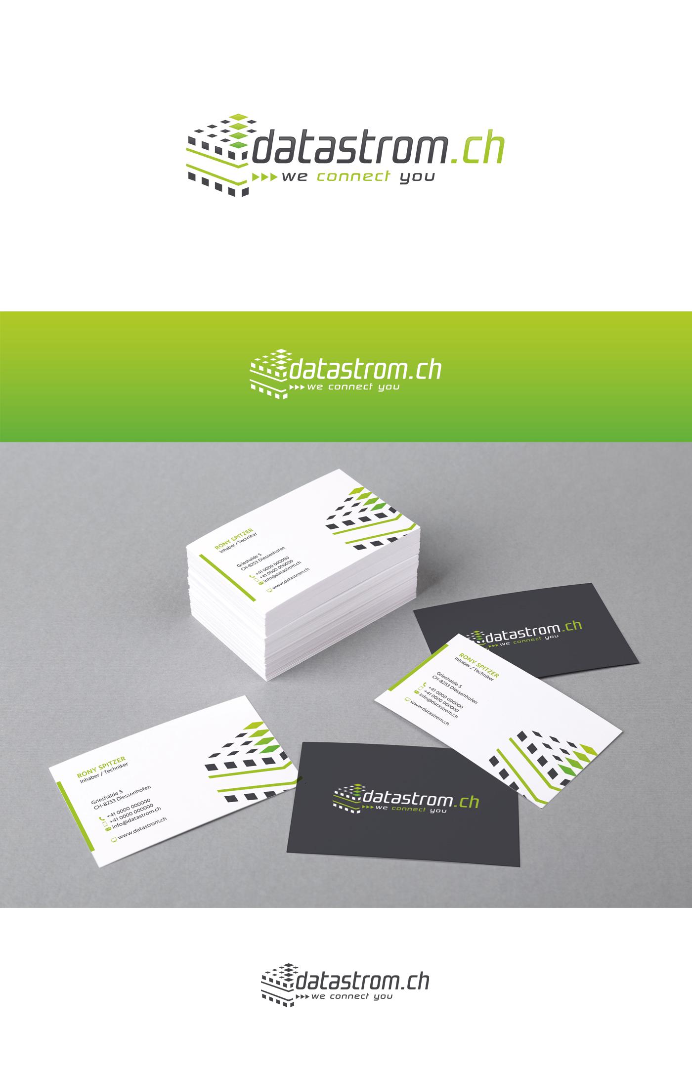 Logo Visitenkarte Für Datastrom Ch Noc Logo Business