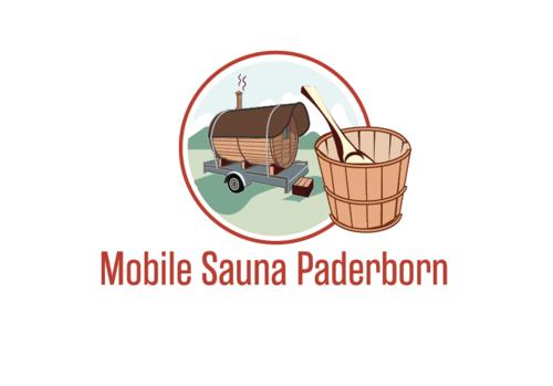 Logo-Design für Verleih einer mobilen Fass-Sauna