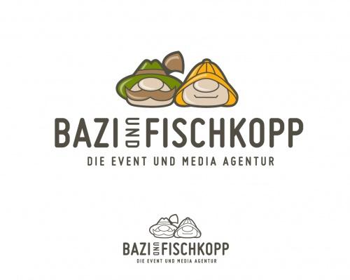 Bazi & Fischkopp Logo für Event & Media Agentur