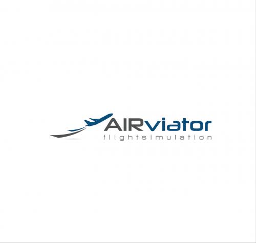 Logo-Design für Betreiber eines Flugsimulationszentrums. Eventflugsimulator.