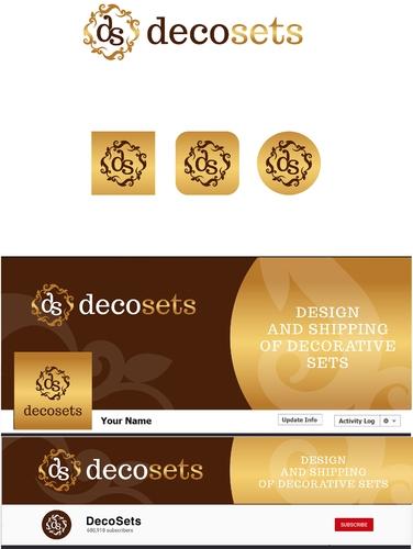 Logo & Social Media Paket für Versandhandel von Deko-Sets