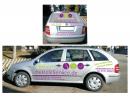 Fahrzeugbeschriftung für Ladengeschäft