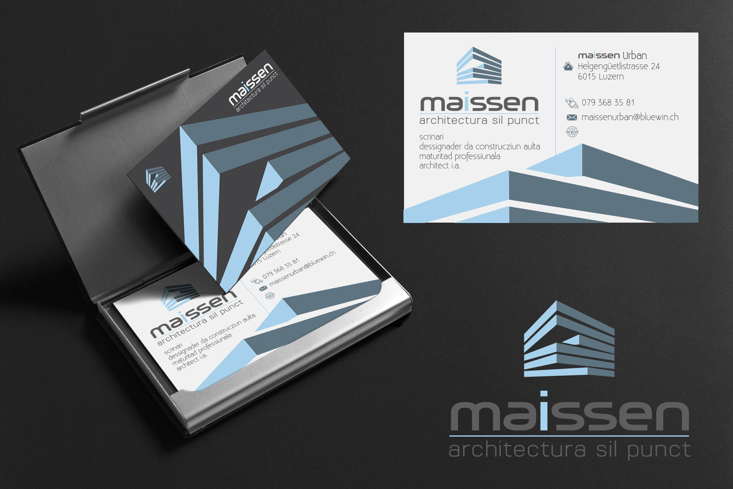 Visitenkarten Design Für Architect I A Business Card