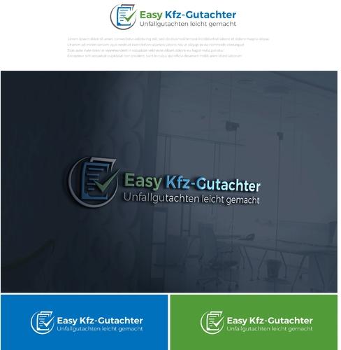 Kfz Gutachter Logo-Design