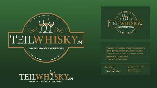 Logo & Visitenkarte für Whisky-Tastings