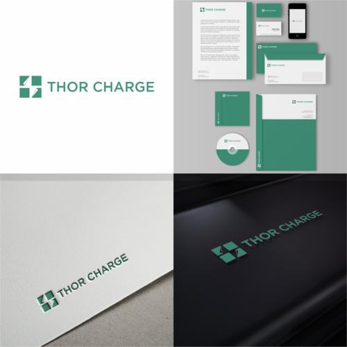 Logo-Design für Ladetechnologie und Ladelösungen