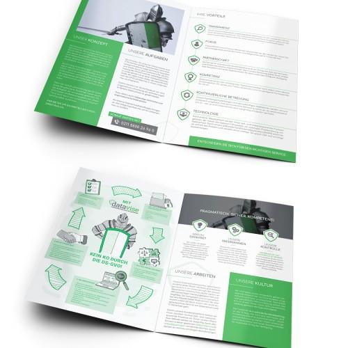 Broschüre für externen Datenschutzpartner