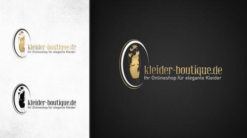 Logo voor een online kleding boetiek (www.kleider-boutique.de)