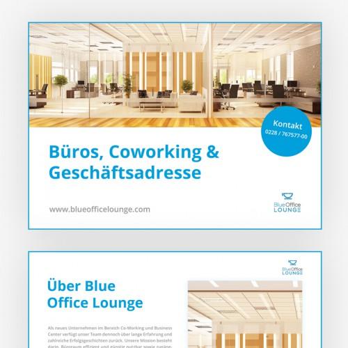 Präsentationsvorlagen für Coworking Anbieter