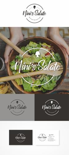 Unternehmen für frische Salate und Healthy Bowls benötigt Logo & Visitenkarten-Design