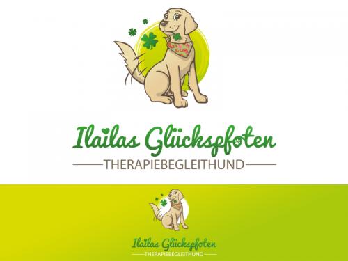 Logo für eine Therapiebegleithündin