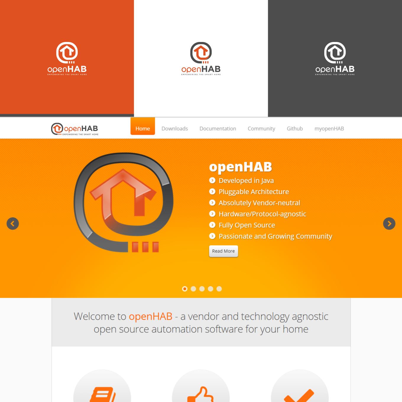 Logo design for a popular open source smart home   » Logo
