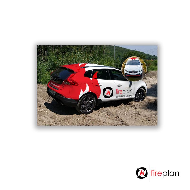 Design Fahrzeugbeschriftung Für Feuerwehr Softwa