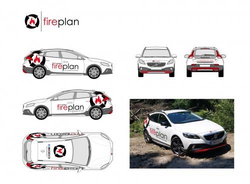 Design Fahrzeugbeschriftung für Feuerwehr-Software!