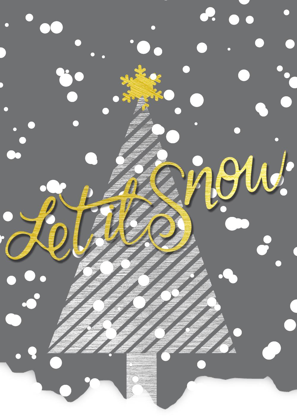 50 weihnachtskarten designs f r online drucke. Black Bedroom Furniture Sets. Home Design Ideas