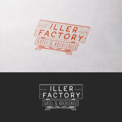 Logo-Design für Grill- & Kochschule