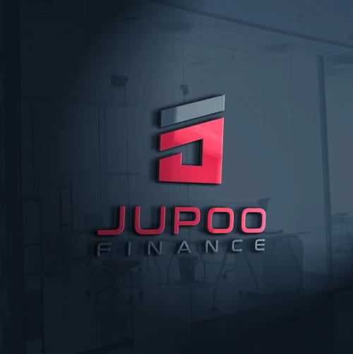 Quadratisches Logo-Design für Vermögensberatungsfirma