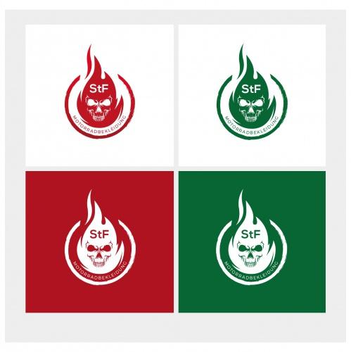 Logo-Design für Motorradbekleidung