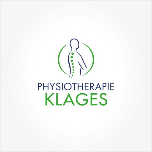 Zeitloses Logo-Design für Physiotherapie, Massage & Krankengymnastik