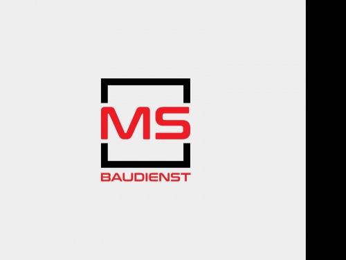 Logo-Design für MS Baudienst GmbH