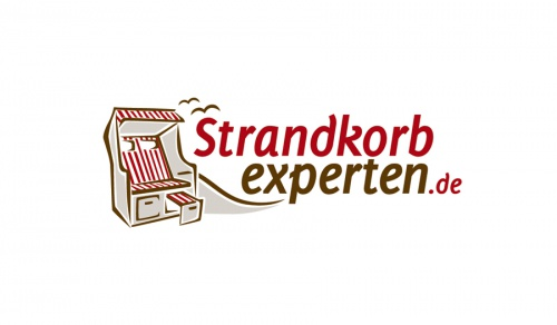 Logo voor een winkel fr Strandkrbe