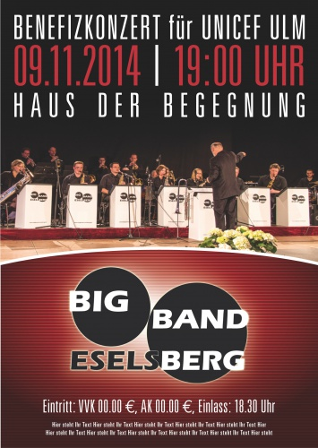 Big Band möchte Konzertplakat erstellen lassen