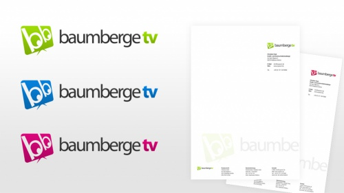 Gestaltung Eines Logos Für Baumbergetv Logo Design Briefing