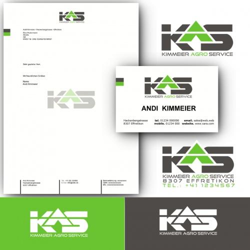 Corporate-Design für KAS  Agroarbeiten