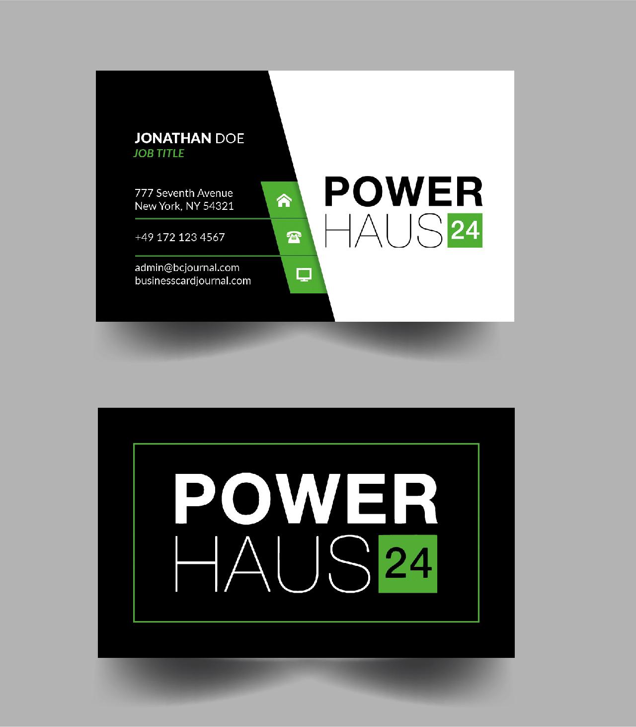 Visitenkarten Design Für Online Shop Für Poolbed