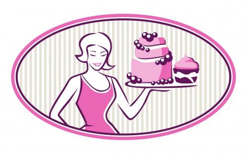Logo voor gebak