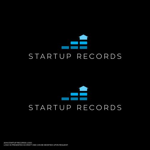 Corporate Design für Startup Records