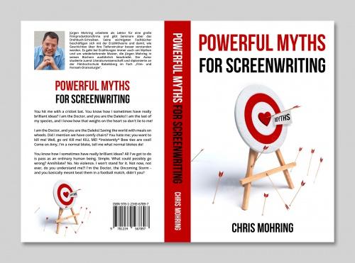 "Buch-/E-Book-Cover für ""Powerful Myths for Screenwriting"" (geplanter Titel)"