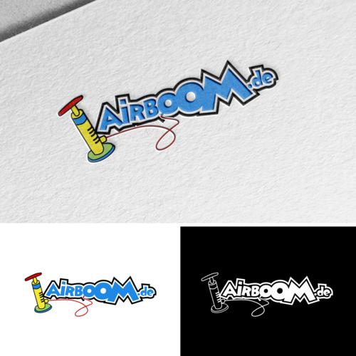 Logo-Design für Vertriebs-Firma  für aufblasbare Artikel
