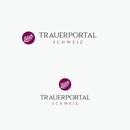 Logo-Design für Trauerportal im Bereich der Unterstützung nach einem Todesfall