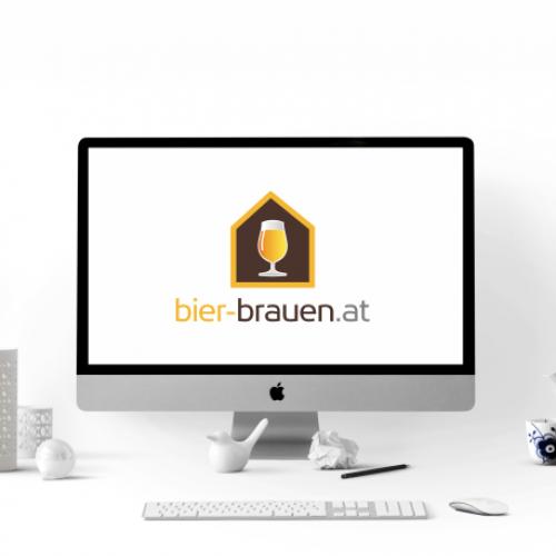 Onlineshop für Hobby / Heimbrau Zubehör benötigt Logo-Design