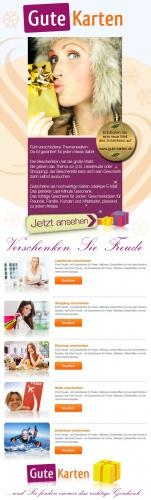 Newsletter für Bestandkunden zum Shop-Relaunch