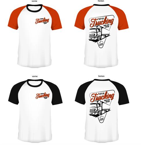 T-Shirt Design für Truck Event Austria 2019