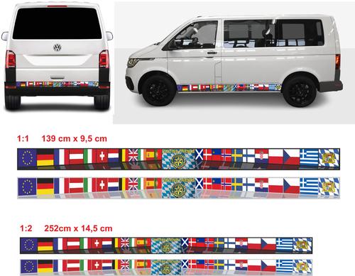 Design einer Auto-Folie für VW-Bus