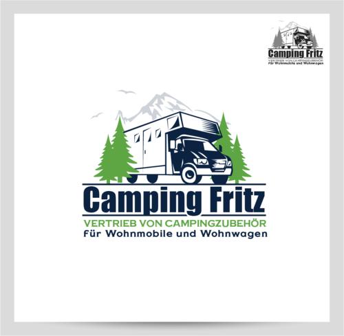Logo-Design für Camping Fritz