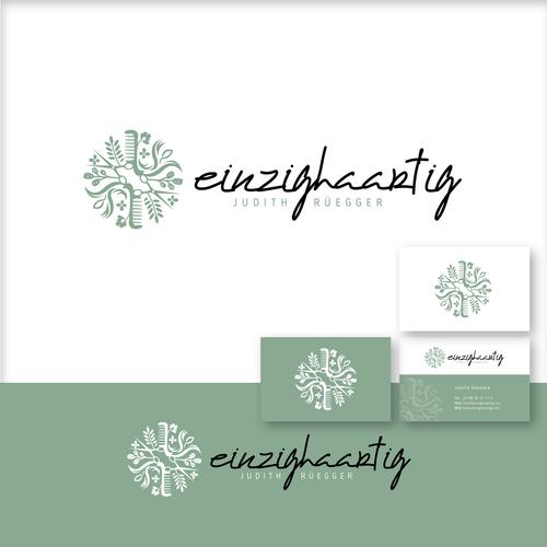 Logo & Visitenkarte für mobilen Friseursalon