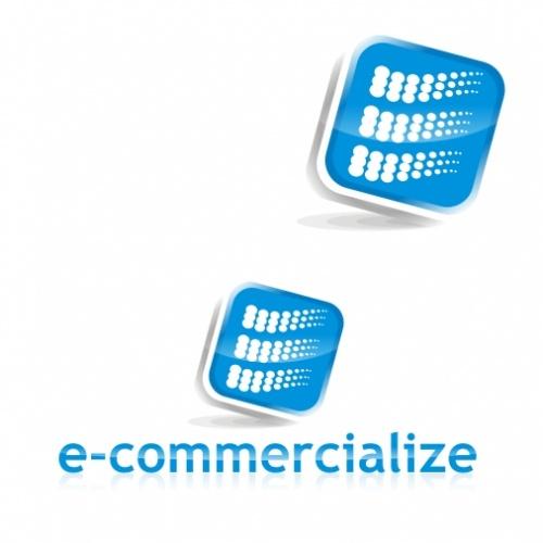 Create the logo for e-commercialize.com