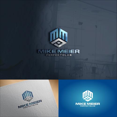 Logo-Design für Glasbau
